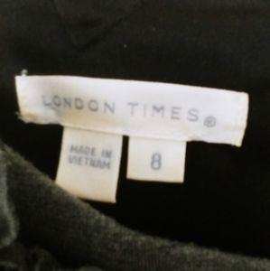 👗LONDON TIMES SLEAVELESS DRESS
